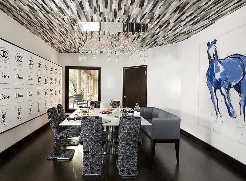 Dallas Estate Breakfast Room U2013 After