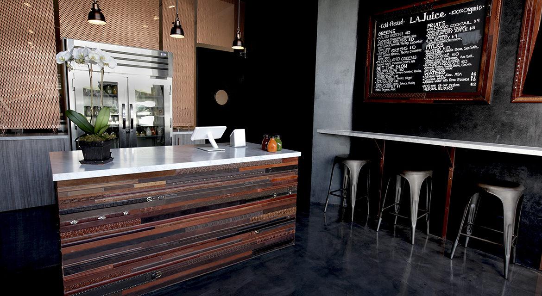 L.A. Juice Bar | Interior Design by Kari Whitman