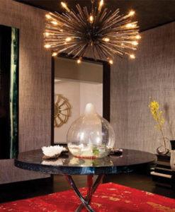 Dallas Estate   Decorative Table   Kari Whitman Interiors
