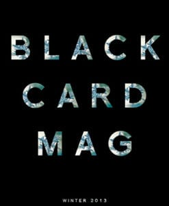 Black Card Mag - Winter 2013