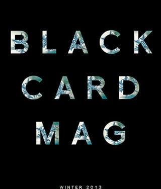 Black Card Magazine
